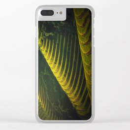 Rice Terraces Clear iPhone Case