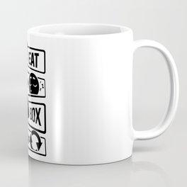 Eat Sleep Box Repeat - Boxing Boxer Uppercut Jab Coffee Mug
