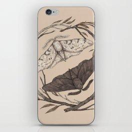 Peppered Moths iPhone Skin