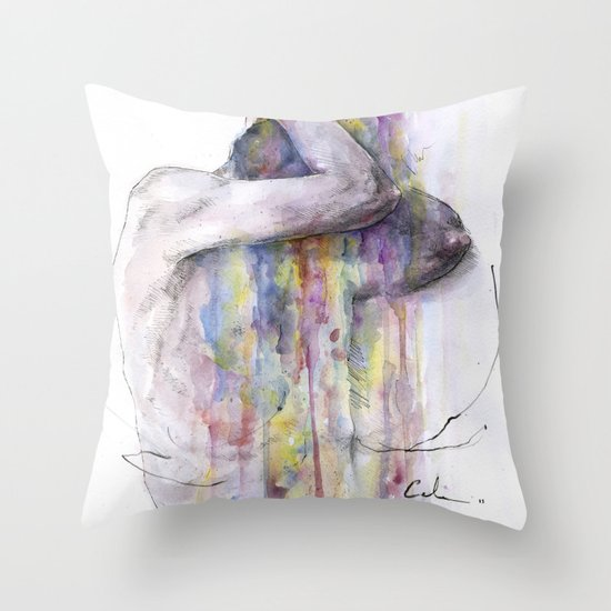 learn to appear Throw Pillow