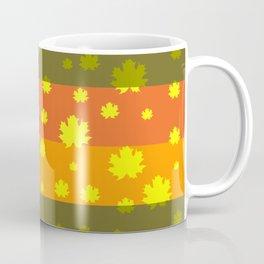 Golden autumn leaves Coffee Mug