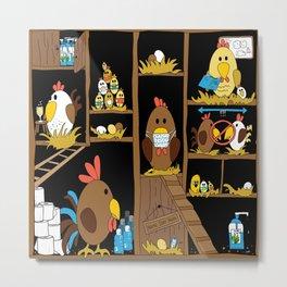 Chicken Coop 2020 Metal Print