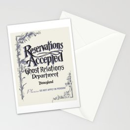 Reservations Accepted by Topher Adam 2016 Stationery Cards