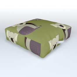 Whimsy Koala Outdoor Floor Cushion