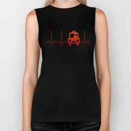 TAXI DRIVER HEARTBEAT Biker Tank