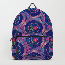 Stained Glass Rose - Beauty & The Beast Inspired Backpack