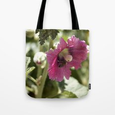Buzzing here and there Tote Bag