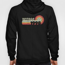 1998 Vintage Design, Birthday Gift Tee. Retro Style Product Hoody