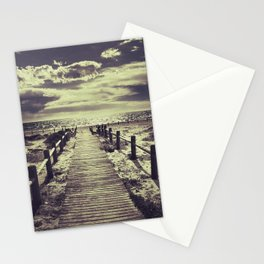 To the beach.... Stationery Cards