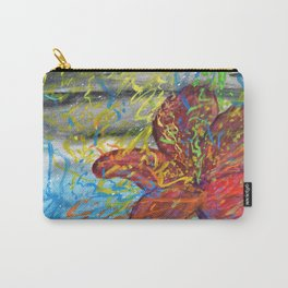 Stomach full of color Carry-All Pouch