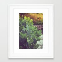 southwest Framed Art Prints featuring Southwest Sunset by The Dreamery
