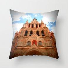 Iglesia Throw Pillow