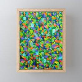 Mini Shards Framed Mini Art Print