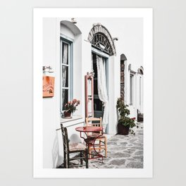 Amorgos Greece Art Print