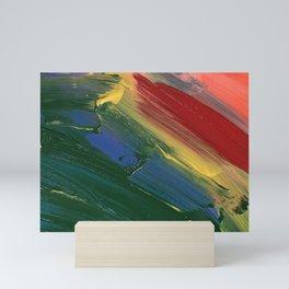 Rainbow Junk mail Mini Art Print