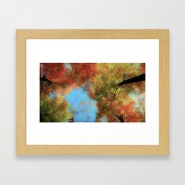 A Perfect Fall Framed Art Print