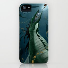The Loch Ness Monster iPhone Case