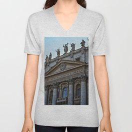 Vatican City Unisex V-Neck