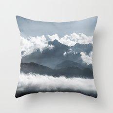 Mountains I Throw Pillow