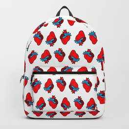 cute hearts pattern Backpack