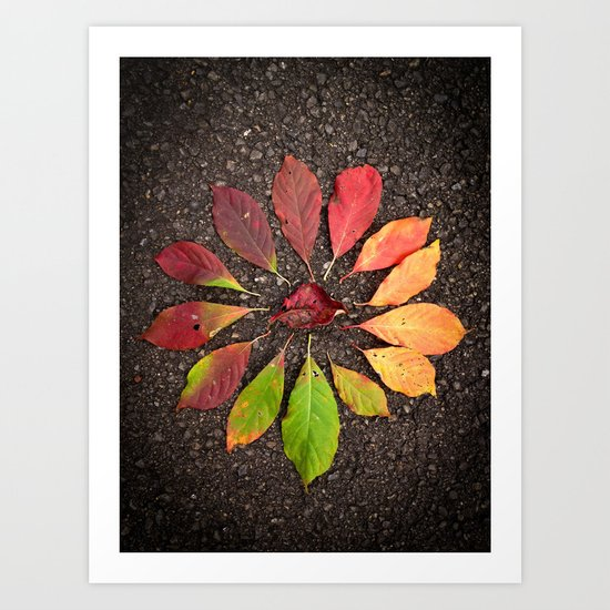 Leaf Love No.1 Art Print