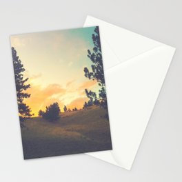 falling through a field Stationery Cards