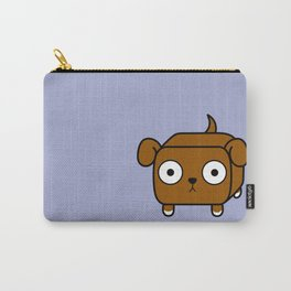 Pitbull Loaf - Red Brown Pit Bull with Floppy Ears Carry-All Pouch