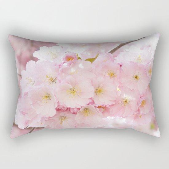 Japanese cherry tree Rectangular Pillow