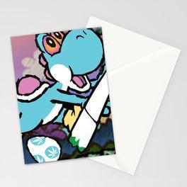 Stoned Yoshi Stationery Cards