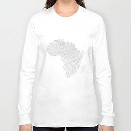 Vector Africa Long Sleeve T-shirt