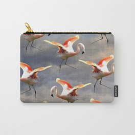 Flamingo World Carry-All Pouch