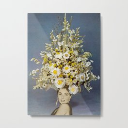 Floral Fashions Metal Print