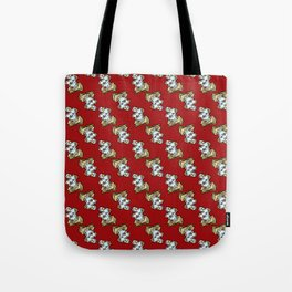 Magic Spellbook on Lion Red for Witch and Wizard School Tote Bag