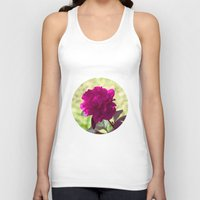 dc Tank Tops featuring DC Flowers by Danielle