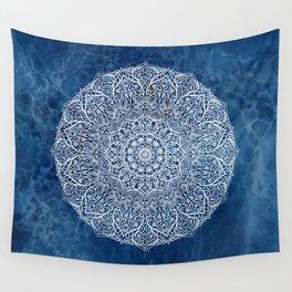 White mandala Wall Tapestry