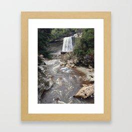 Mangatini Falls Framed Art Print