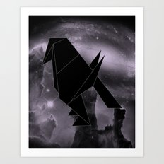 Origami Constellation Art Print
