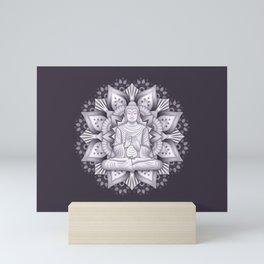 Black Mandala Mini Art Print