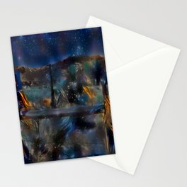 Night at the Ranch Stationery Cards