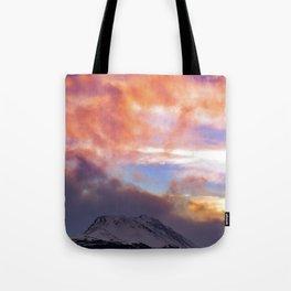 Flat Top Storm Clouds - Alaska Tote Bag