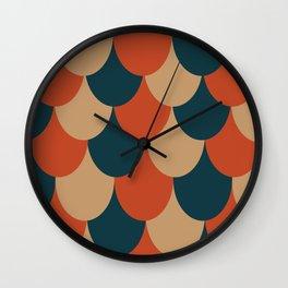 Multi-Drape Wall Clock