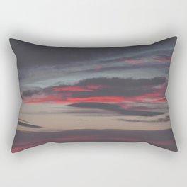 Beautiful image of the sky as night falls Rectangular Pillow