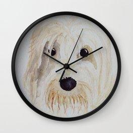 Gina the PBGV Wall Clock