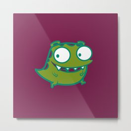 cutie_monster_01_bis Metal Print