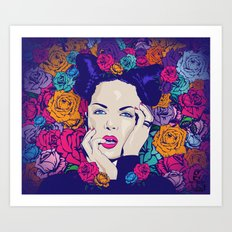 just Shirley Art Print