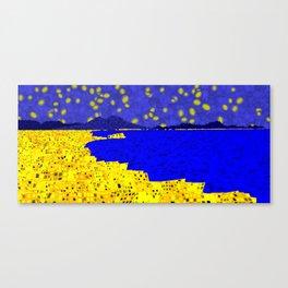 Golden Naples Canvas Print