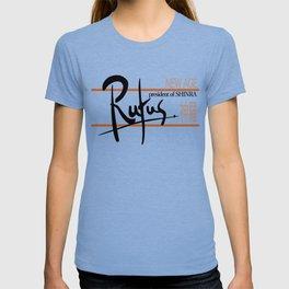 Rufus President of Shinra Campaign Logo - Final Fantasy VII T-shirt