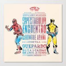 Espectacular Encuentro Canvas Print