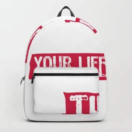 Suicide Prevention Life Matters Backpack