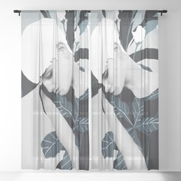 Gentle Beauty 5 Sheer Curtain
